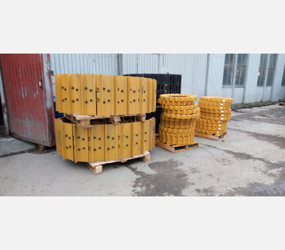 Гусеница в сборе 6I-9641 для бульдозера Caterpillar D6R