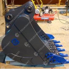 Ковш стандартный бокорезами для экскаваторов от 18 до 55 тонн
