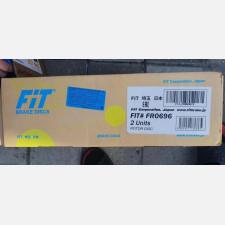 Задние тормозные диски FiT  FR0696 (комплект)
