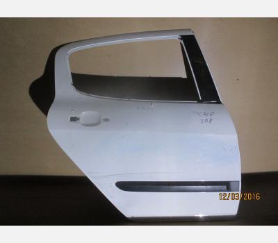 Дверь задняя правая бу для Пежо 308 (Peugeot 308)